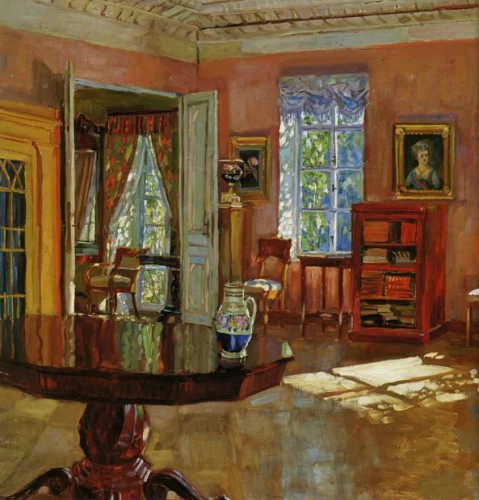 Zhukovsky stanislav yulianovich interieur oil paintings for me - Bibliotheekwereld huis ...